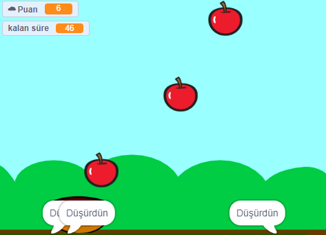 Scratch Elma Toplama Oyunu
