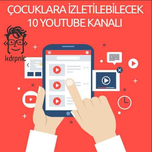 Çocuklara İzletilebilecek En İyi 10 Youtube Kanalı