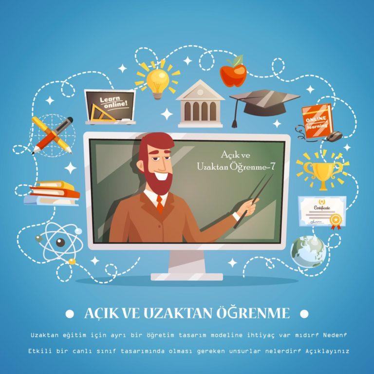Uzaktan Eğitim ve Öğretim Tasarımı İlişkisi- Etkili Canlı Sınıf